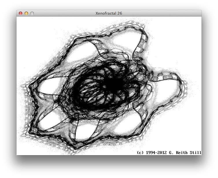 New QB64 code   Xenofractals Strange Non-chaotic Attractors